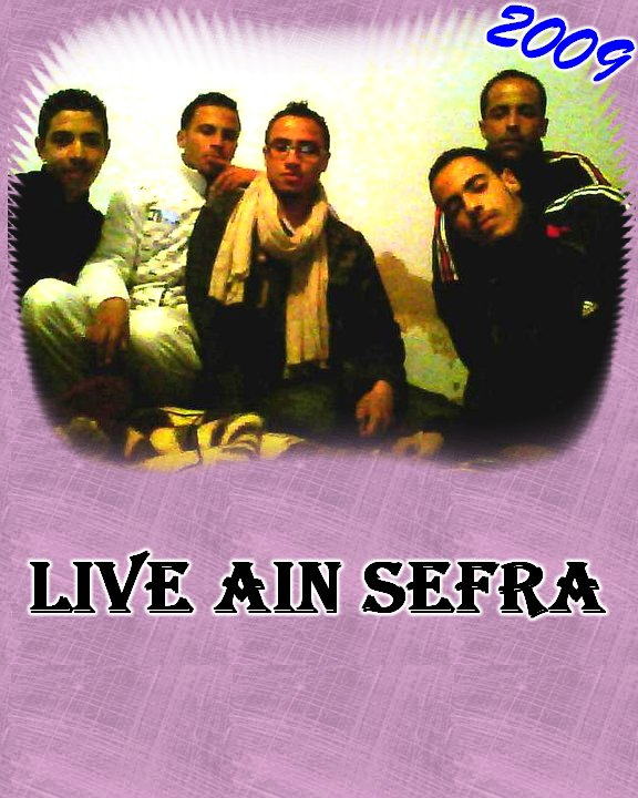 l'edition LIVE AIN SEFRA