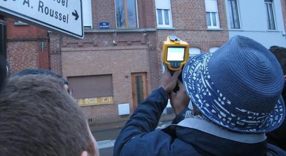 Tourcoing : arm�s d'une cam�ra thermique, sur les traces des maisons qui chauffent les rues