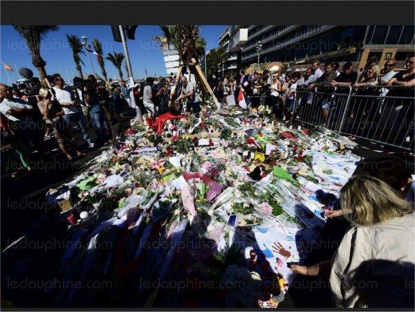 attentat  �  Nice  la m�moire des victimes