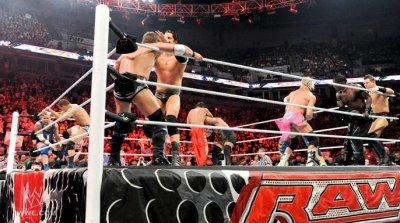 - The Miz à  WWE Raw et WWE Smackdown !