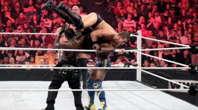 - The Miz à  WWE Raw et WWE Smackdown !