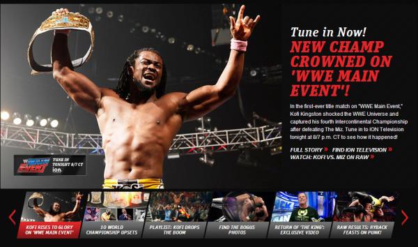 Miz' à Raw et à WWE Main Event!