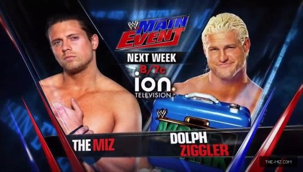The Miz à WWE Main Event et Samckdown!