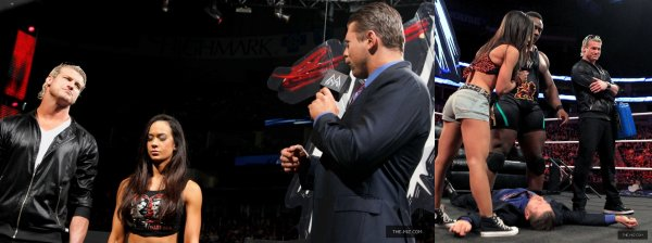 The Miz à RAW!, Smackdown! et Tribute To The Troops!