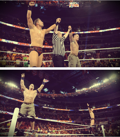 The Miz à Raw!