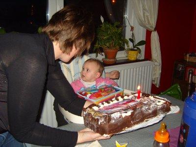 anniversaire kayla 1 ans