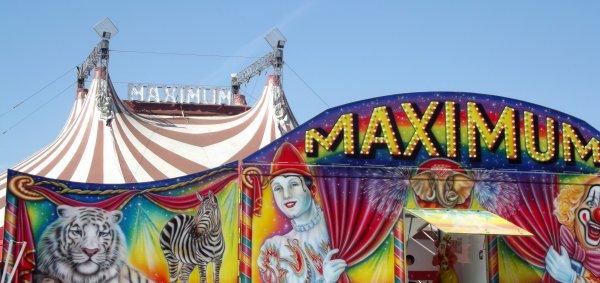 Cirque Maximum à La Roche sur Yon Septembre 2016