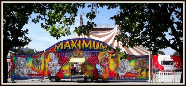 Cirque Maximum à La Roche sur Yon Septembre 2016 (4)
