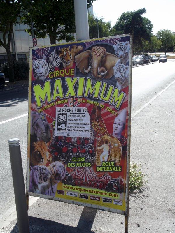 Cirque Maximum � La Roche sur Yon Septembre 2016 (5)