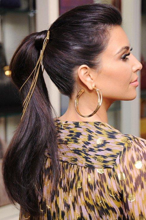 coiffure femme queue de cheval