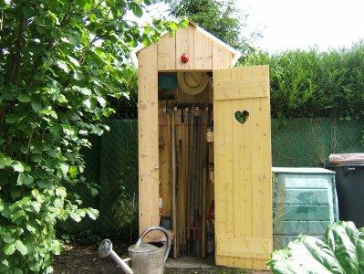 Blog de la cabane a chiotte page 3 blog de la cabane a - Cabane a outil de jardin ...