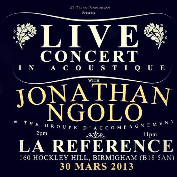 Jonathan Ngolo Live Acoustic Concert