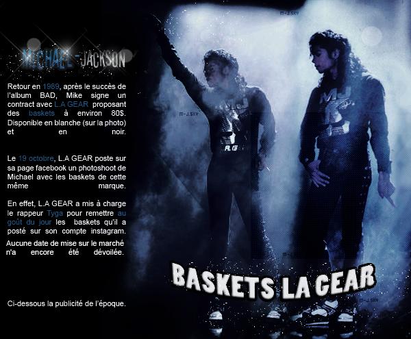 News du 23 octobre 2014 : Le retour des baskets LA GEAR ? + Xscape certifié.
