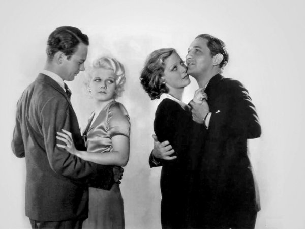 1931 on commence avec ce film de frank capra qui porte bien son nom la blonde platine. Black Bedroom Furniture Sets. Home Design Ideas