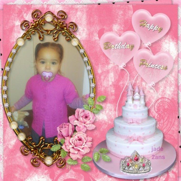 Anniversaire De Ma Petite Fille