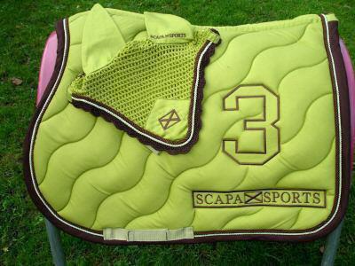 Mes recherches scapa sports 2007 vente d 39 equipements d 39 equitations pour chevaux pon Tapis cheval vert pomme