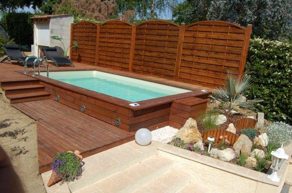 Blog de 2b lecorse page 10 ma piscine wood line classy for Petite piscine terrasse