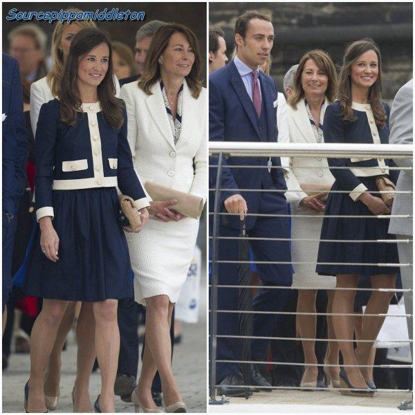 Pippa Middleton et sa famille au jubil� de diamant de la Reine