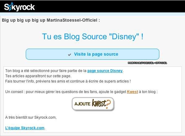 """Je suis blog source """"Disney"""" et """"S�ries TV"""" !"""