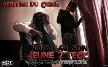 Profil Du Ghetto / Heritier du Crime - Jeune 2 tece (2011)