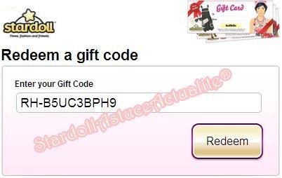 Code Cadeau