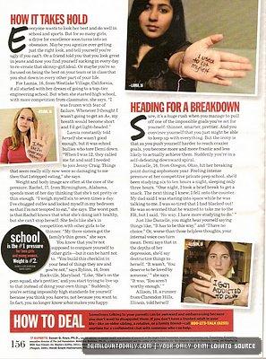 Scans du magasine 'Seventeen' de Mai 2011