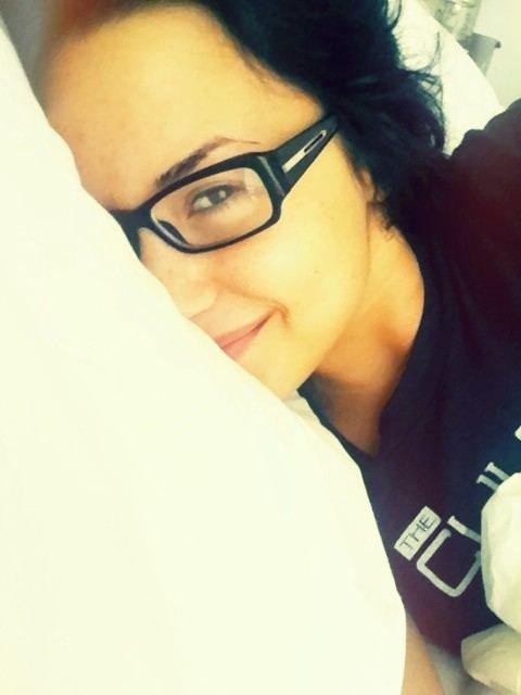 Photos postées par Demi Lovato sur Twitter