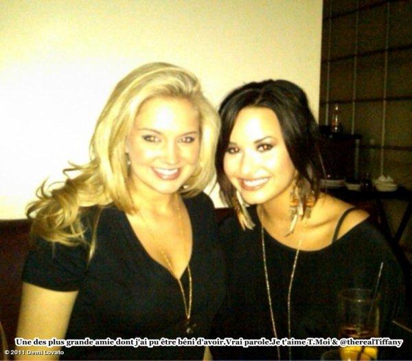 Demi Lovato : soir�e entre copine