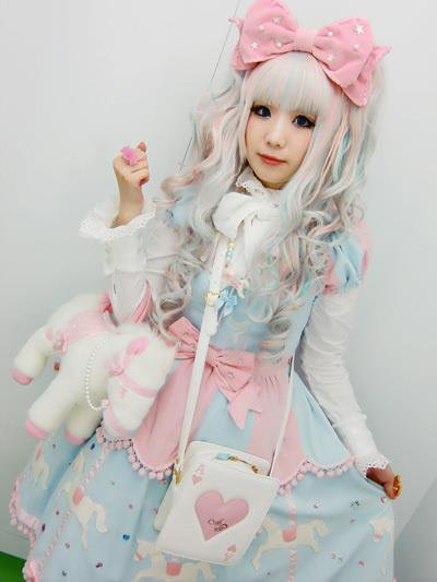 Sweet lolita le style version japonaise kawaii overdose de perfection Pretty girl fashion style tumblr