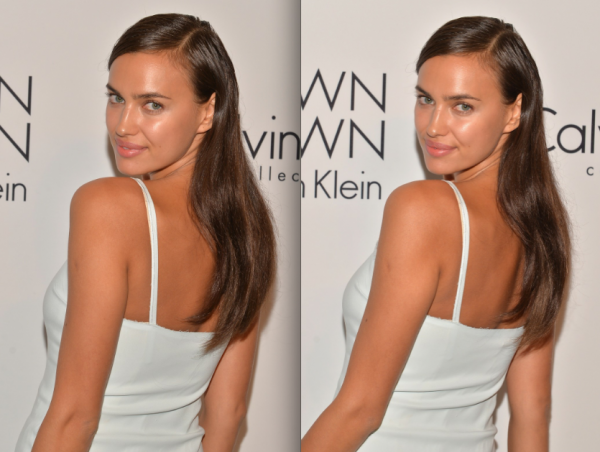 Le 12 Septembre:  Irina � l'after party de Calvin Klein. Pour moi c'est un FLOP.