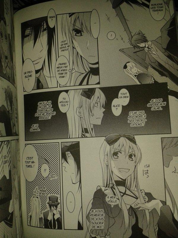 Alice au royaume de Trèfle scans Tome 2