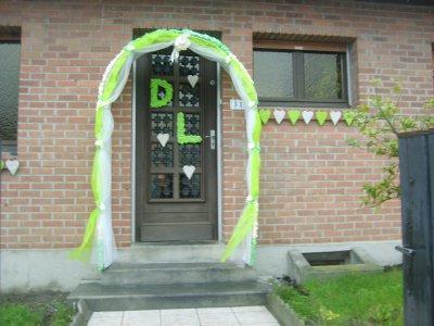 Decoration porte mariage decormariagetrnds for Decoration fausse porte