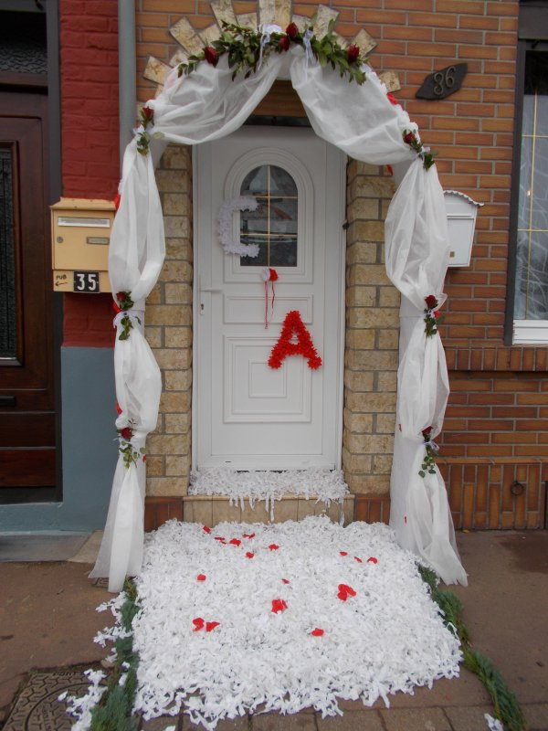 26 novembre 2016 jonchure fausse porte mariage for Decoration fausse porte