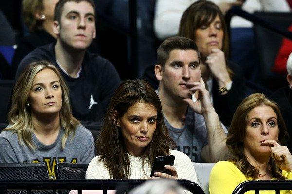 Katie a �t� voir un match de Basket - le 20 Mars -