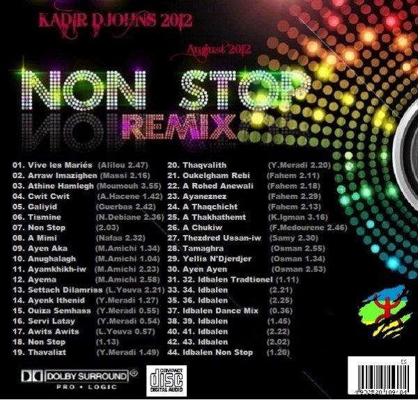 NOUVEL ALBUM KADIR DJOHNS 2012 T�L�CHARGE GRATUITEMENT LE NOUVEL ALBUM 2012 KADIR DJOHNS (44 NOUVEAUX TITRES KABYLE NON STOP SP�CIALE F�TE)