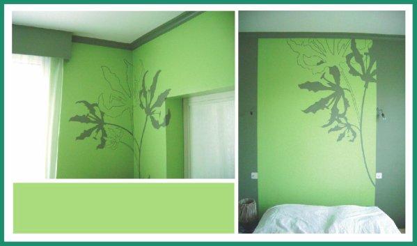 Stunning Chambre Verte Pomme Ideas - ansomone.us - ansomone.us