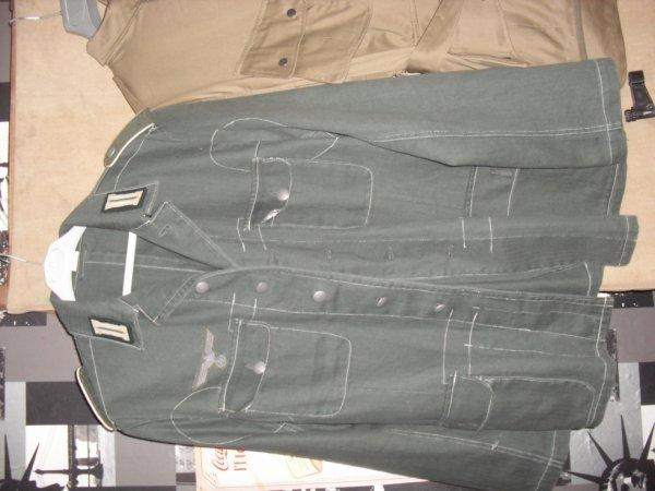 veste allemand avec ses grades
