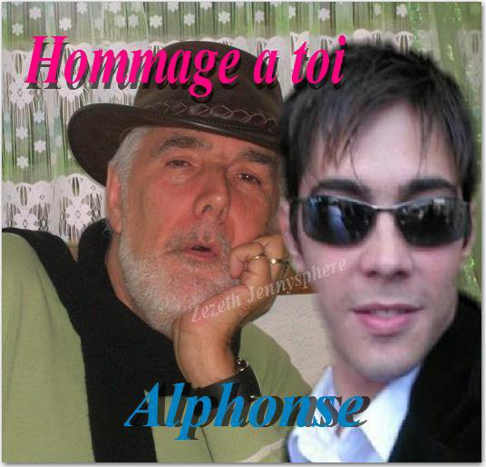 Hommage a toi Alphonse