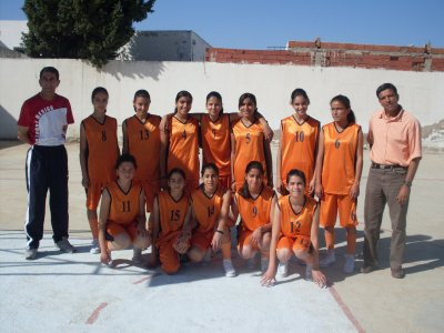 L'Association Sportive F�minine de Ksibet el Mediouni - Tunisie