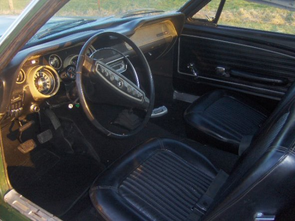 FORD MUSTANG FASTBACK 68 V8 5.0L INJECTION
