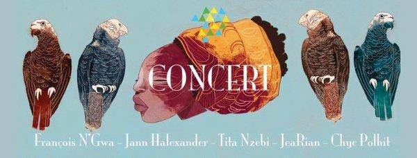 Participation de Jann Halexander au concert 'Une Aurore se Lève' Café de la Danse 21/01/2017