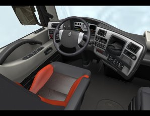 Renault magnum int rieur termin truck game for Renault gamme t interieur