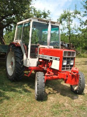 Tracteur ih 633 sa