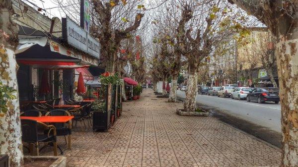 ville de K�nitra Maroc (en automne)