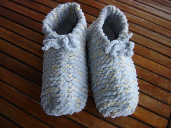 chaussons pour l'infirmi�re