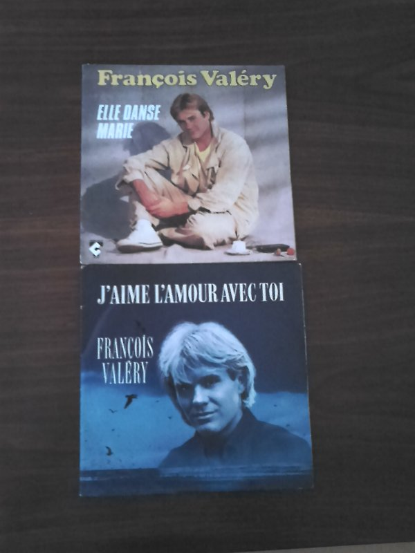 France Gall, Fran�ois Val�ry, Ringo, Les Clodettes mes 45 tours trouver � Emause