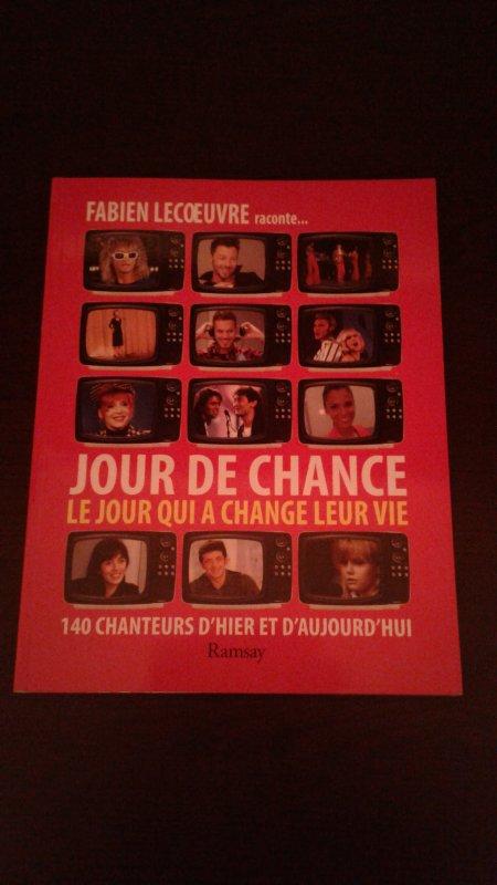 FABIEN LECOEUVRE JOUR DE CHANCE LIVRE DE 2013