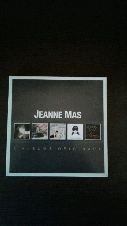 Jeanne Mas 5 albums originaux 2014  mon nouveau coffret cd