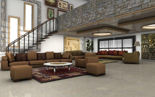 Salon Avec Mezzanine Art Confort