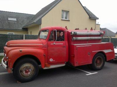 le camion est arriver a la maison non sans mal !!!